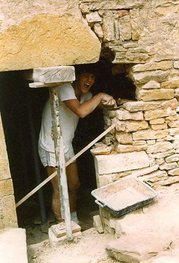 Restauration de la maison de l 39 association for Jambage de porte